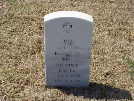 KEATON (VETERAN KOR), JIM TAYLOR - Pulaski County, Arkansas | JIM TAYLOR KEATON (VETERAN KOR) - Arkansas Gravestone Photos