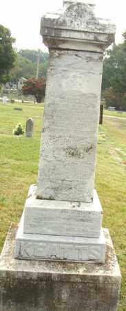 KEATTS, CHESTER W. - Pulaski County, Arkansas | CHESTER W. KEATTS - Arkansas Gravestone Photos