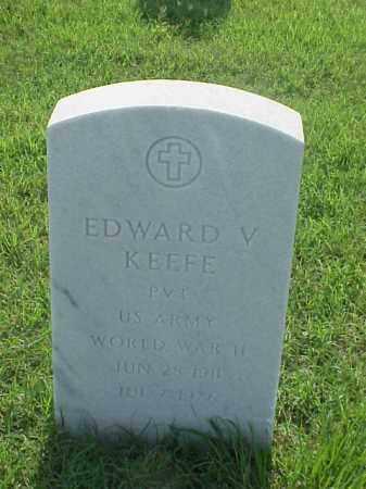 KEEFE (VETERAN WWII), EDWARD V - Pulaski County, Arkansas   EDWARD V KEEFE (VETERAN WWII) - Arkansas Gravestone Photos