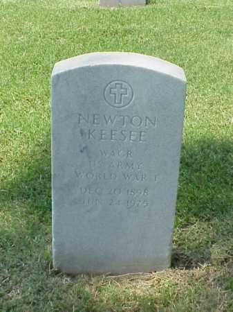 KEESEE (VETERAN WWI), NEWTON - Pulaski County, Arkansas   NEWTON KEESEE (VETERAN WWI) - Arkansas Gravestone Photos