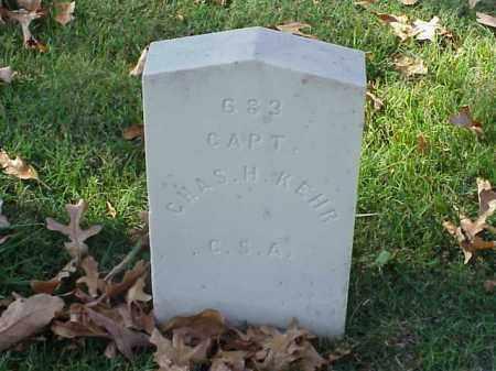 KEHR (VETERAN CSA), CHARLES H - Pulaski County, Arkansas | CHARLES H KEHR (VETERAN CSA) - Arkansas Gravestone Photos