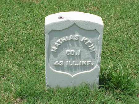 KEIM (VETERAN UNION), MATHIAS - Pulaski County, Arkansas | MATHIAS KEIM (VETERAN UNION) - Arkansas Gravestone Photos