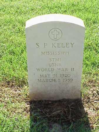 KELEY (VETERAN WWII), S P - Pulaski County, Arkansas | S P KELEY (VETERAN WWII) - Arkansas Gravestone Photos
