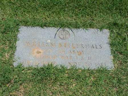 KELLERHALS (VETERAN 2 WARS), WILLIAM - Pulaski County, Arkansas   WILLIAM KELLERHALS (VETERAN 2 WARS) - Arkansas Gravestone Photos