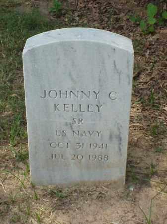 KELLEY (VETERAN), JOHNNY C - Pulaski County, Arkansas | JOHNNY C KELLEY (VETERAN) - Arkansas Gravestone Photos