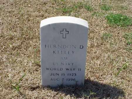 KELLEY (VETERAN WWII), HERNDON D - Pulaski County, Arkansas | HERNDON D KELLEY (VETERAN WWII) - Arkansas Gravestone Photos