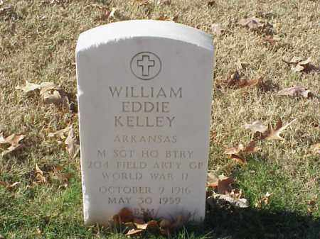 KELLEY (VETERAN WWII), WILLIAM EDDIE - Pulaski County, Arkansas | WILLIAM EDDIE KELLEY (VETERAN WWII) - Arkansas Gravestone Photos