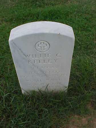 KELLEY (VETERAN WWII), WILLIE C - Pulaski County, Arkansas | WILLIE C KELLEY (VETERAN WWII) - Arkansas Gravestone Photos