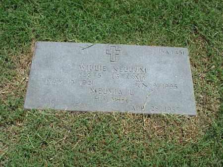 KELLUM (VETERAN WWII), WILLIE - Pulaski County, Arkansas | WILLIE KELLUM (VETERAN WWII) - Arkansas Gravestone Photos