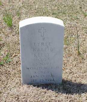 KELLY (VETERAN 2 WARS), TYREE RALPH - Pulaski County, Arkansas | TYREE RALPH KELLY (VETERAN 2 WARS) - Arkansas Gravestone Photos