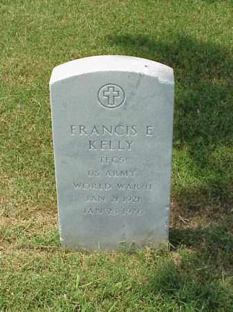 KELLY (VETERAN WWII), FRANCIS E - Pulaski County, Arkansas | FRANCIS E KELLY (VETERAN WWII) - Arkansas Gravestone Photos
