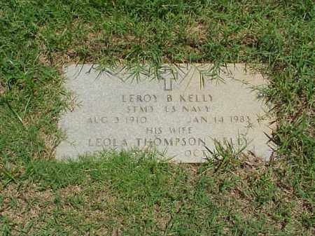KELLY (VETERAN WWII), LEROY B - Pulaski County, Arkansas | LEROY B KELLY (VETERAN WWII) - Arkansas Gravestone Photos