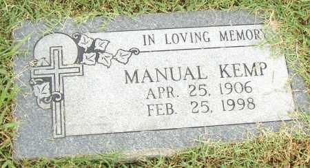 KEMP, MANUAL - Pulaski County, Arkansas | MANUAL KEMP - Arkansas Gravestone Photos
