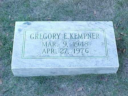 KEMPNER, GREGORY E - Pulaski County, Arkansas | GREGORY E KEMPNER - Arkansas Gravestone Photos