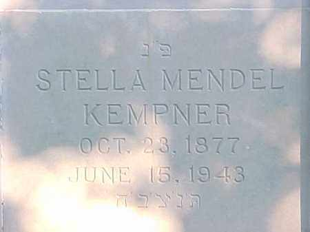 KEMPNER, STELLA - Pulaski County, Arkansas   STELLA KEMPNER - Arkansas Gravestone Photos