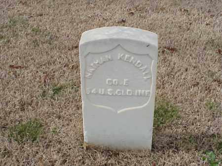 KENDALL (VETERAN UNION), NATHAN - Pulaski County, Arkansas | NATHAN KENDALL (VETERAN UNION) - Arkansas Gravestone Photos