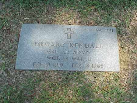 KENDALL (VETERAN WWII), EDWARD - Pulaski County, Arkansas | EDWARD KENDALL (VETERAN WWII) - Arkansas Gravestone Photos