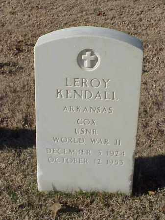 KENDALL (VETERAN WWII), LEROY - Pulaski County, Arkansas | LEROY KENDALL (VETERAN WWII) - Arkansas Gravestone Photos