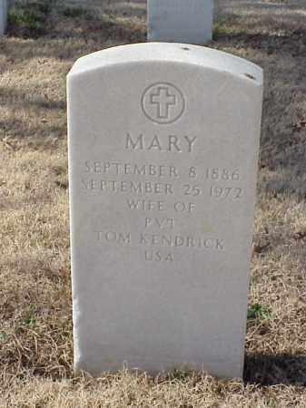 KENDRICK, MARY - Pulaski County, Arkansas | MARY KENDRICK - Arkansas Gravestone Photos