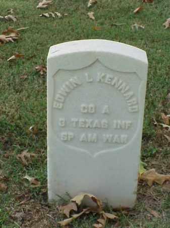 KENNARD (VETERAN SAW), EDWIN L - Pulaski County, Arkansas   EDWIN L KENNARD (VETERAN SAW) - Arkansas Gravestone Photos