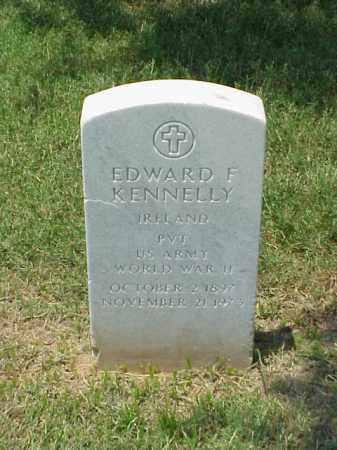 KENNELLY (VETERAN WWII), EDWARD F - Pulaski County, Arkansas | EDWARD F KENNELLY (VETERAN WWII) - Arkansas Gravestone Photos