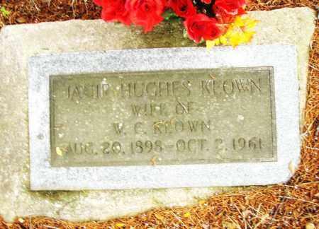 HUGHES KEOWN, JANIE - Pulaski County, Arkansas   JANIE HUGHES KEOWN - Arkansas Gravestone Photos