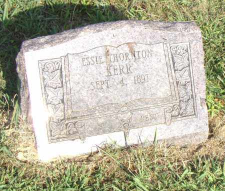 KERR, ESSIE - Pulaski County, Arkansas | ESSIE KERR - Arkansas Gravestone Photos