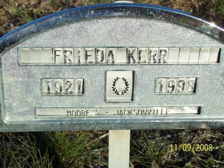 KERR, FRIEDA NALTIA - Pulaski County, Arkansas | FRIEDA NALTIA KERR - Arkansas Gravestone Photos