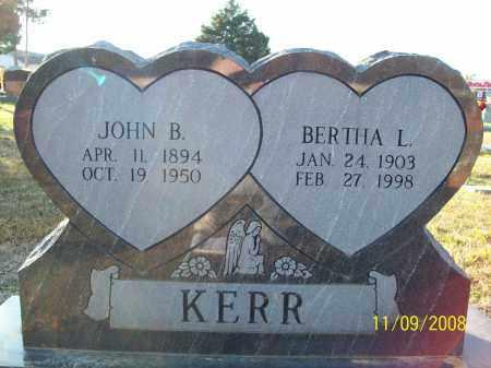 KERR, BERTHA LEONA - Pulaski County, Arkansas | BERTHA LEONA KERR - Arkansas Gravestone Photos
