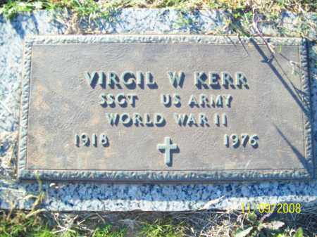 KERR  (VETERAN WWII), VIRGIL WADE - Pulaski County, Arkansas | VIRGIL WADE KERR  (VETERAN WWII) - Arkansas Gravestone Photos