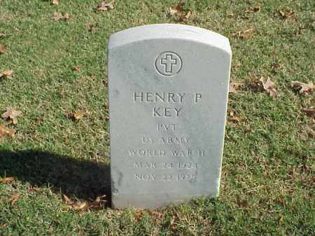 KEY (VETERAN WWII), HENRY P - Pulaski County, Arkansas | HENRY P KEY (VETERAN WWII) - Arkansas Gravestone Photos