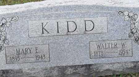 KIDD, WALTER W - Pulaski County, Arkansas | WALTER W KIDD - Arkansas Gravestone Photos