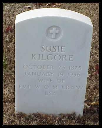 KILGORE, SUSIE - Pulaski County, Arkansas | SUSIE KILGORE - Arkansas Gravestone Photos