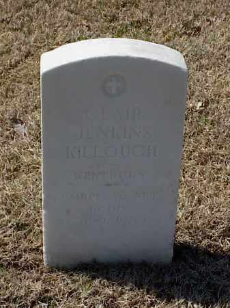 KILLOUGH (VETERAN WWI), CLAIR JENKINS - Pulaski County, Arkansas | CLAIR JENKINS KILLOUGH (VETERAN WWI) - Arkansas Gravestone Photos