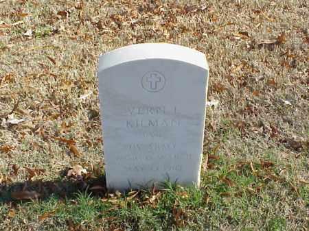 KILMAN (VETERAN WWII), VERN L - Pulaski County, Arkansas   VERN L KILMAN (VETERAN WWII) - Arkansas Gravestone Photos