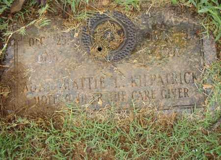 KILPATRICK, MATTIE L. - Pulaski County, Arkansas | MATTIE L. KILPATRICK - Arkansas Gravestone Photos