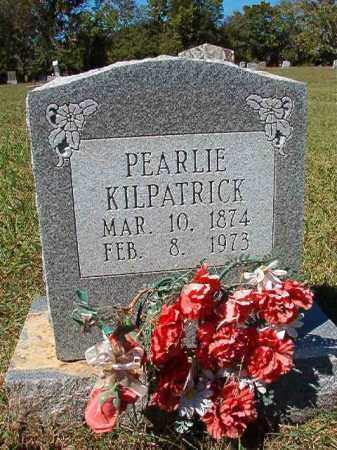 KILPATRICK, PEARLIE - Pulaski County, Arkansas | PEARLIE KILPATRICK - Arkansas Gravestone Photos