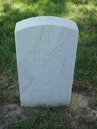 KIMBLE (VETERAN WWII), NARCOTIS - Pulaski County, Arkansas | NARCOTIS KIMBLE (VETERAN WWII) - Arkansas Gravestone Photos