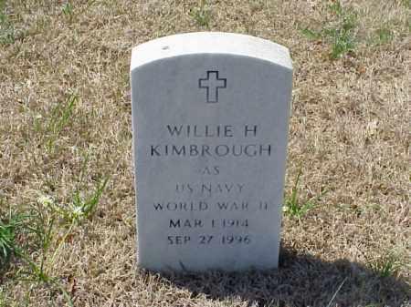 KIMBROUGH (VETERAN WWII), WILLIE H - Pulaski County, Arkansas   WILLIE H KIMBROUGH (VETERAN WWII) - Arkansas Gravestone Photos