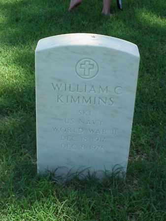 KIMMINS (VETERAN WWII), WILLIAM C - Pulaski County, Arkansas | WILLIAM C KIMMINS (VETERAN WWII) - Arkansas Gravestone Photos