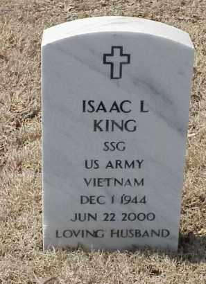 KING  (VETERAN VIET), ISAAC L - Pulaski County, Arkansas | ISAAC L KING  (VETERAN VIET) - Arkansas Gravestone Photos