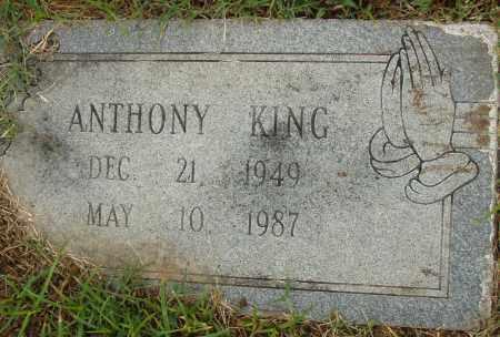KING, ANTHONY - Pulaski County, Arkansas | ANTHONY KING - Arkansas Gravestone Photos