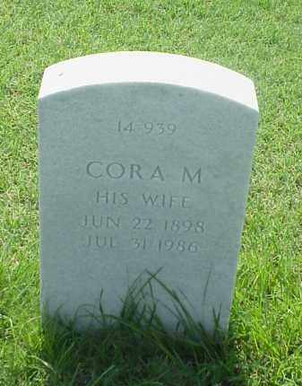 KING, CORA M - Pulaski County, Arkansas | CORA M KING - Arkansas Gravestone Photos