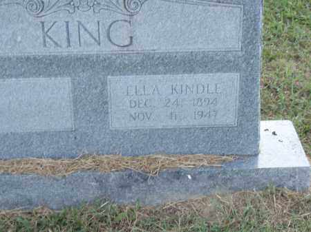 KING, ELLA - Pulaski County, Arkansas | ELLA KING - Arkansas Gravestone Photos