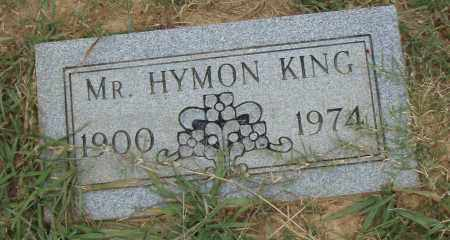 KING, HYMON - Pulaski County, Arkansas   HYMON KING - Arkansas Gravestone Photos