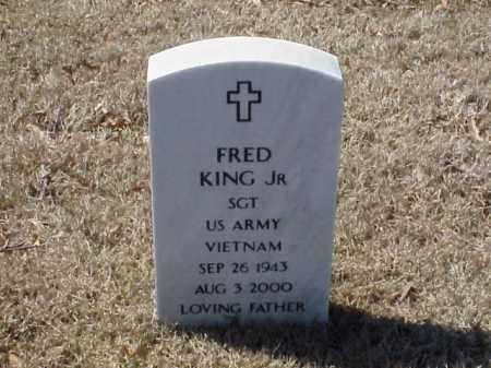 KING, JR  (VETERAN VIET), FRED - Pulaski County, Arkansas   FRED KING, JR  (VETERAN VIET) - Arkansas Gravestone Photos