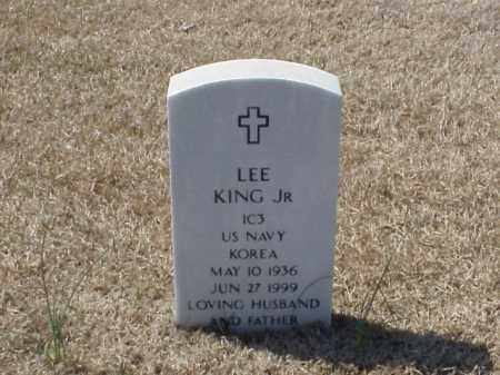 KING, JR (VETERAN KOR), LEE - Pulaski County, Arkansas   LEE KING, JR (VETERAN KOR) - Arkansas Gravestone Photos