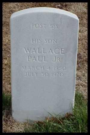 KING, JR, WALLACE PAUL - Pulaski County, Arkansas   WALLACE PAUL KING, JR - Arkansas Gravestone Photos