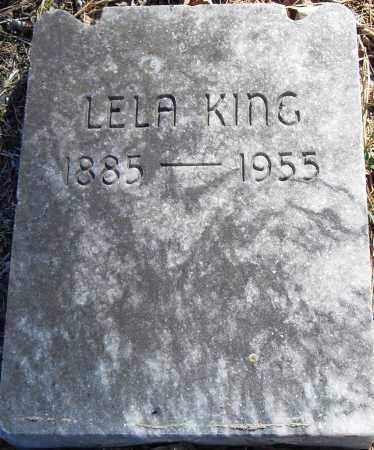 KING, LELA - Pulaski County, Arkansas   LELA KING - Arkansas Gravestone Photos