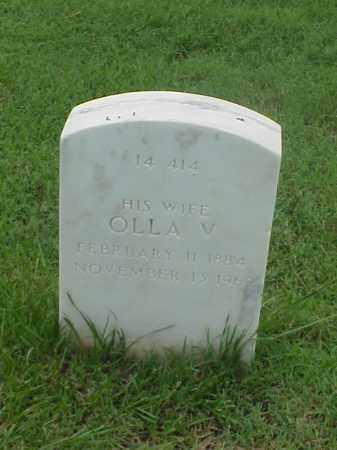 KING, OLLA V - Pulaski County, Arkansas | OLLA V KING - Arkansas Gravestone Photos